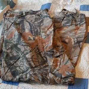 Outfitters Ridge,Camo Hunting Pants Extra Large